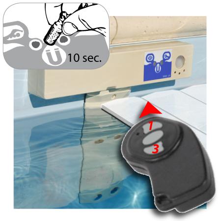 Report pour d tecteur d 39 immersion discr te piscine for Alarme piscine portable