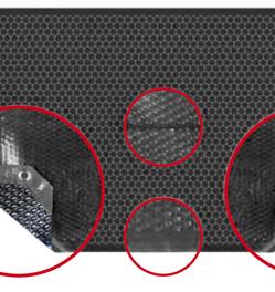 bache isothermique duo noire 400 pour piscine piscine. Black Bedroom Furniture Sets. Home Design Ideas