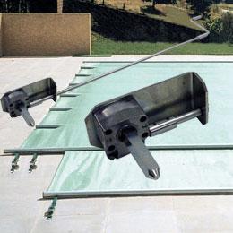 Securit pool access bache a barre piscine center net Manivelle bache piscine