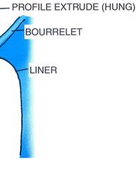 Baguette hung alu x liner piscine center net for Accrochage liner piscine