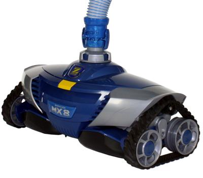 mx8 le robot piscine hydraulique de zodiac piscine center net. Black Bedroom Furniture Sets. Home Design Ideas